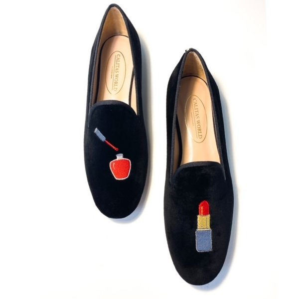 LOAFER TERCIOPELO NEGRO KIT BEAUTY